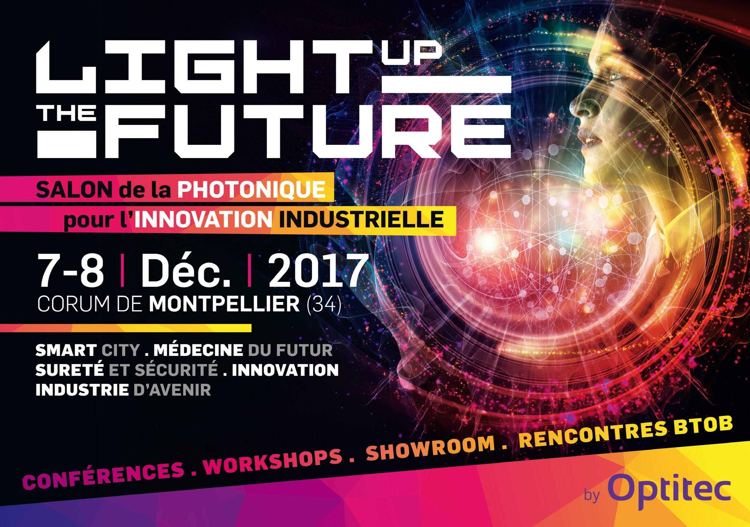 LightUptheFuture, le salon de la photonique pour l'innovation industrielle !